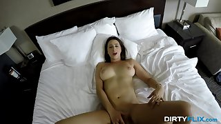 Dirty Flix - Ashley Adams - Going to bed coed with big swingers